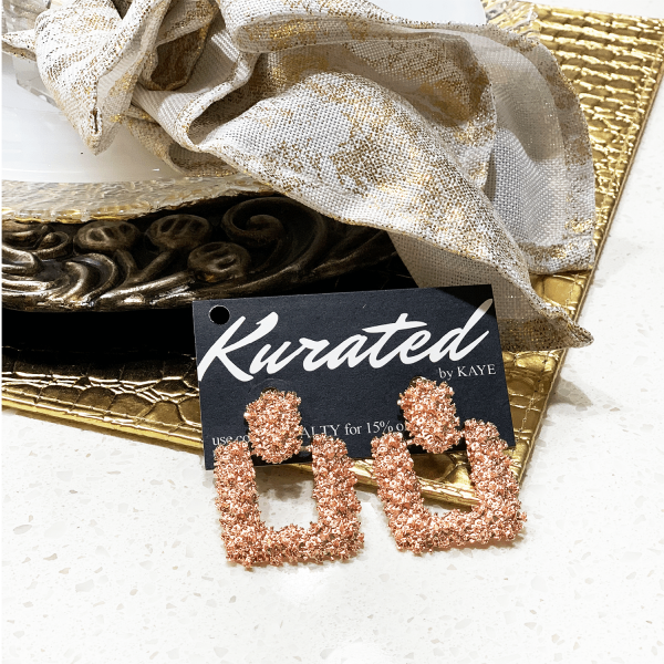 bougie door knocker rose gold
