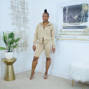 women's bermuda short tracksuit