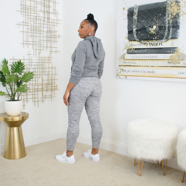 zip up hoodie jogger pants set