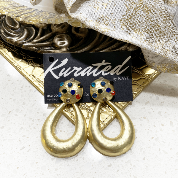 Egyptian royalty earrings