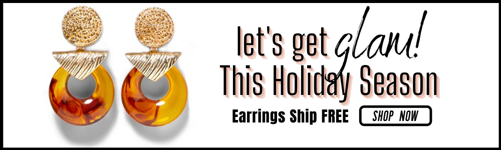holiday earring new arrivals