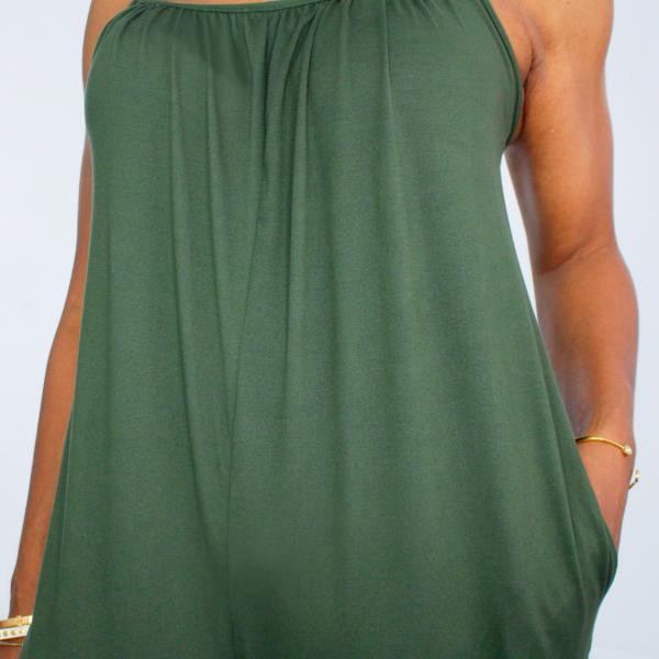 harem fit jumpsuit (olive)